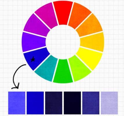 Chọn màu đơn sắc