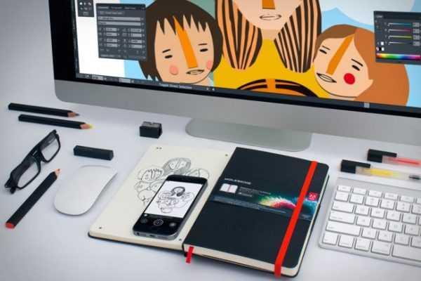 Sổ tay và bút nên luôn đi theo cùng nhà thiết kế