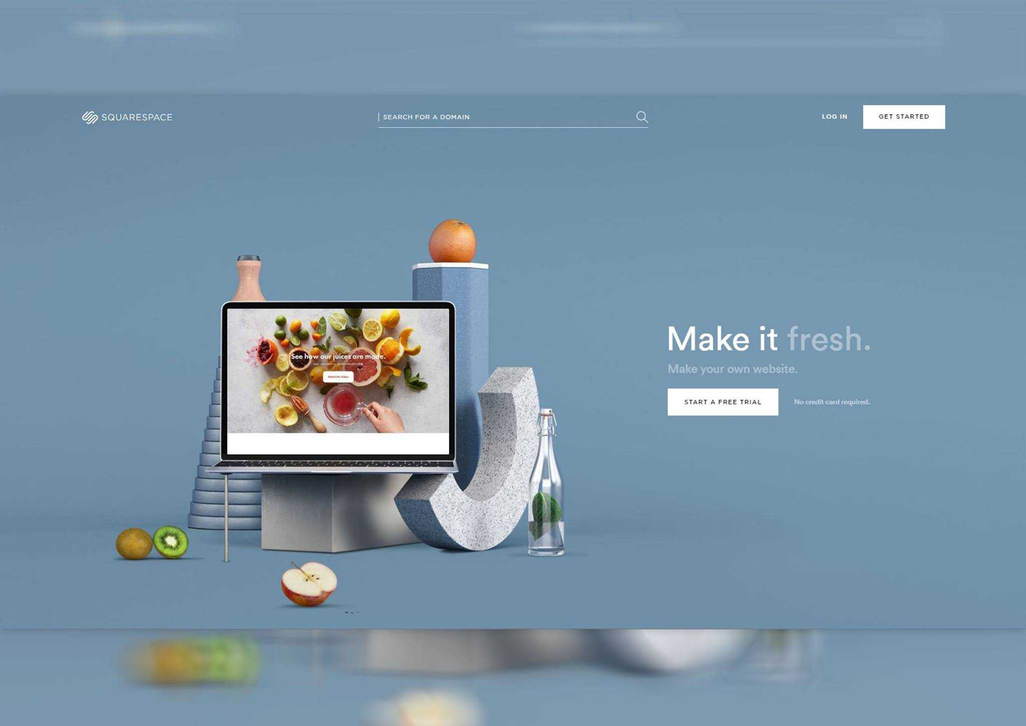 Giao diện thiết kế html website